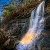02/25/16 Featured Arkansas Landscape Photography--Sunset Falls on Mt. Magazine aka Chris Kennedy Falls