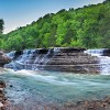 05/25/16 Six Finger Falls on Falling Water Creek--Featured Arkansas Landscape Photography