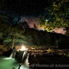 06/18/16 Featured Arkansas Landscape Photography--Nighttime skies over Falling Water Creek