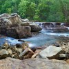 09/21/16 Featured Arkansas landscape photography--6 finger falls on Falling Water Creek