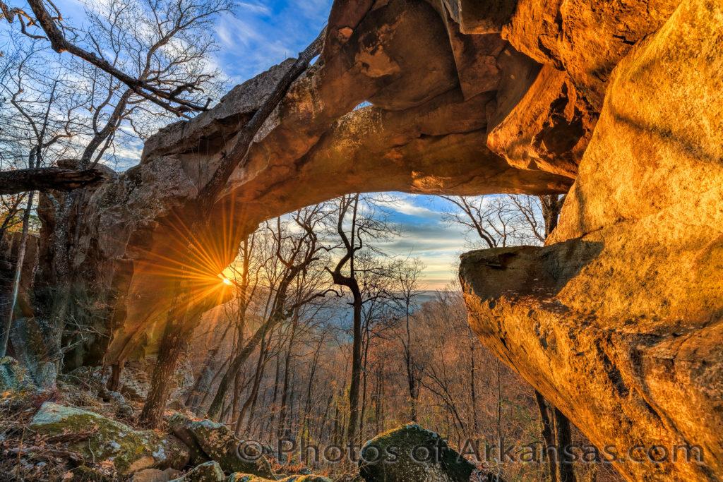 Rainbow Rock Image of Arkansas