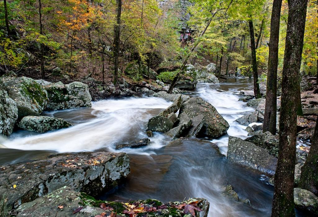 Cedar Creek Below the falls on Petit Jean Mountain