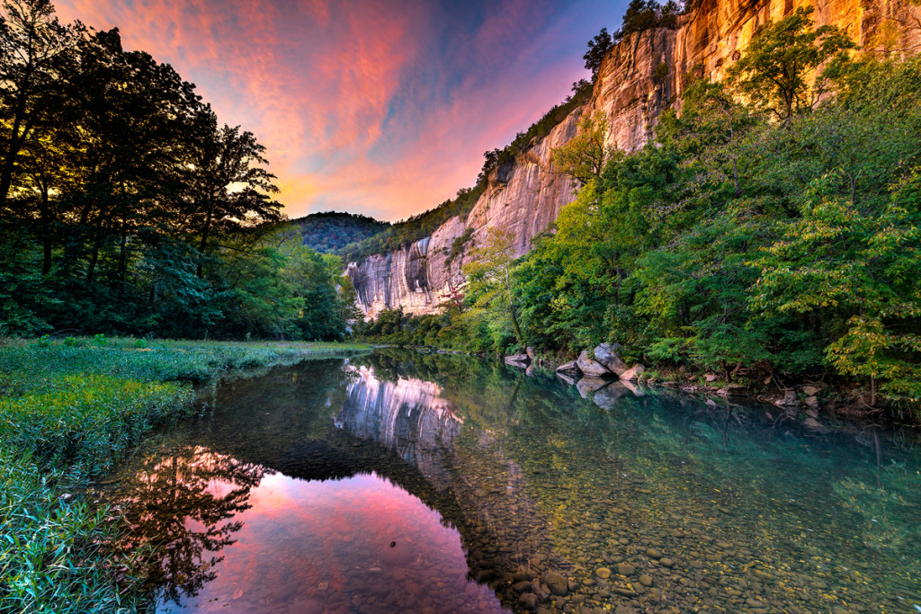 Buffalo River Roark Bluff