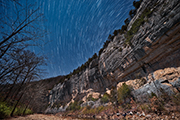 Roark Bluff star Trails