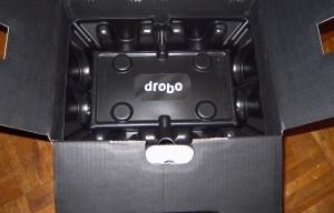 Drobo 5D packaging