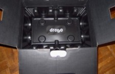 Drobo 5D packaging
