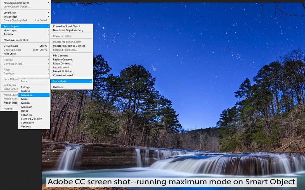 Stack modes Adobe CC
