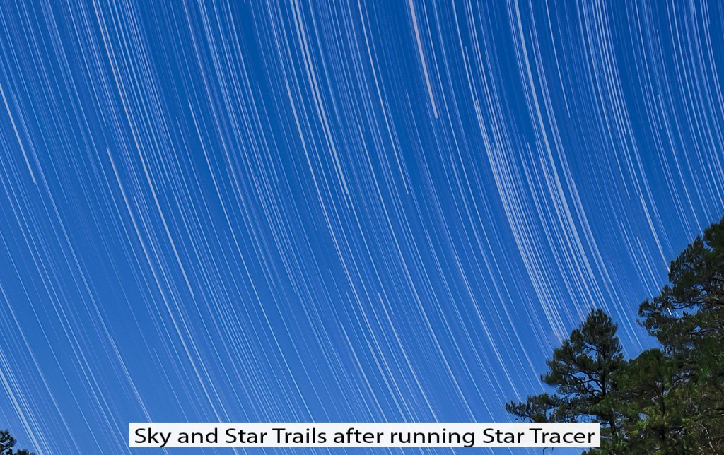 Star Tracer Software closing gaps