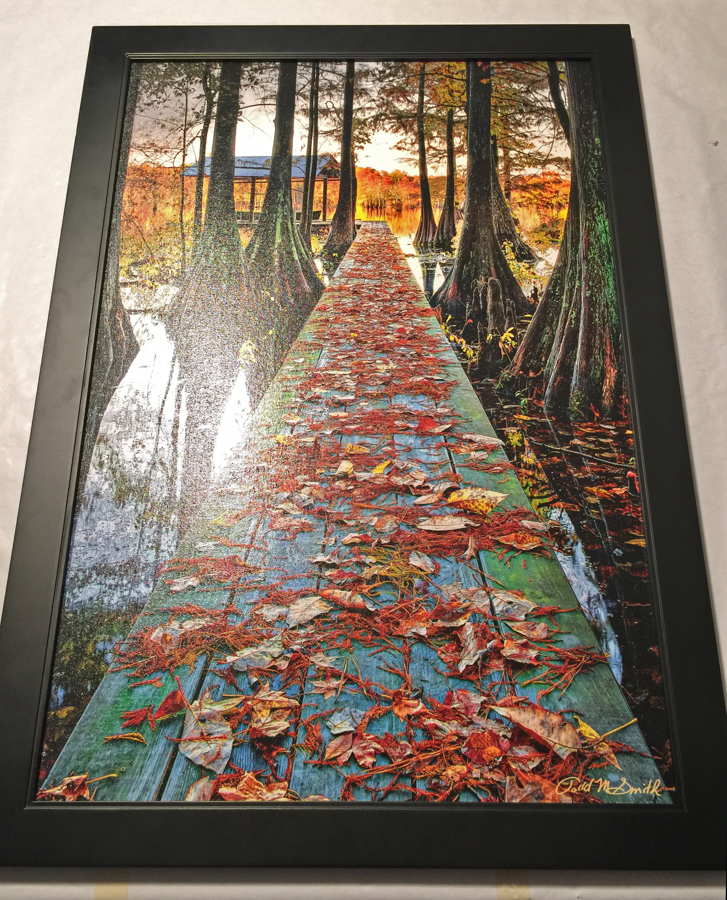 Mounting Canvas to substrate–producing an excellent option for ...