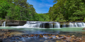 Haw Creek Falls, waterfalls in Arkansas