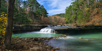 Haw Creek Falls Arkansas Ozarks