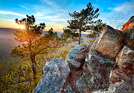 Flatside Pinnacle Sunset