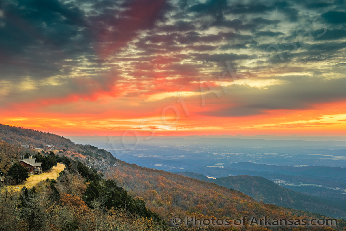 Featured Arkansas Landscape Photography–October sunrise on ...
