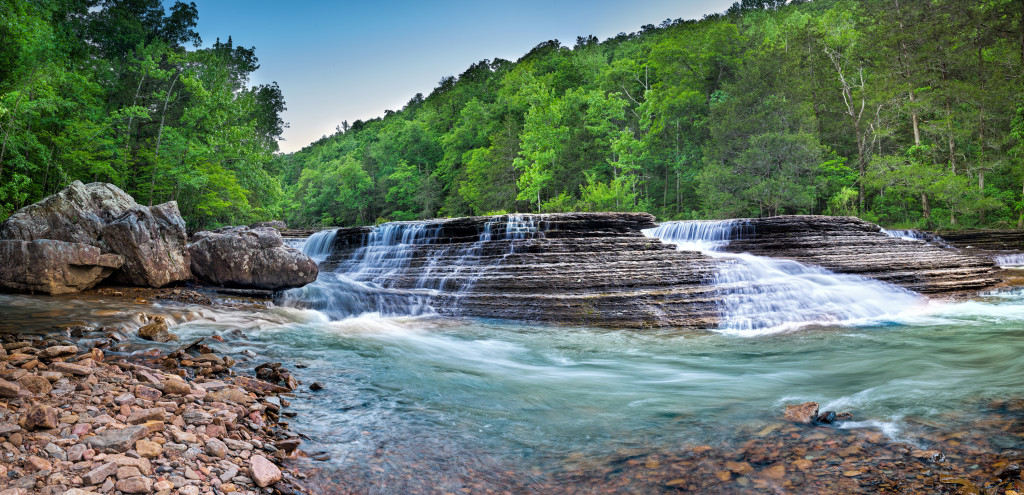 6 finger falls Arkansas
