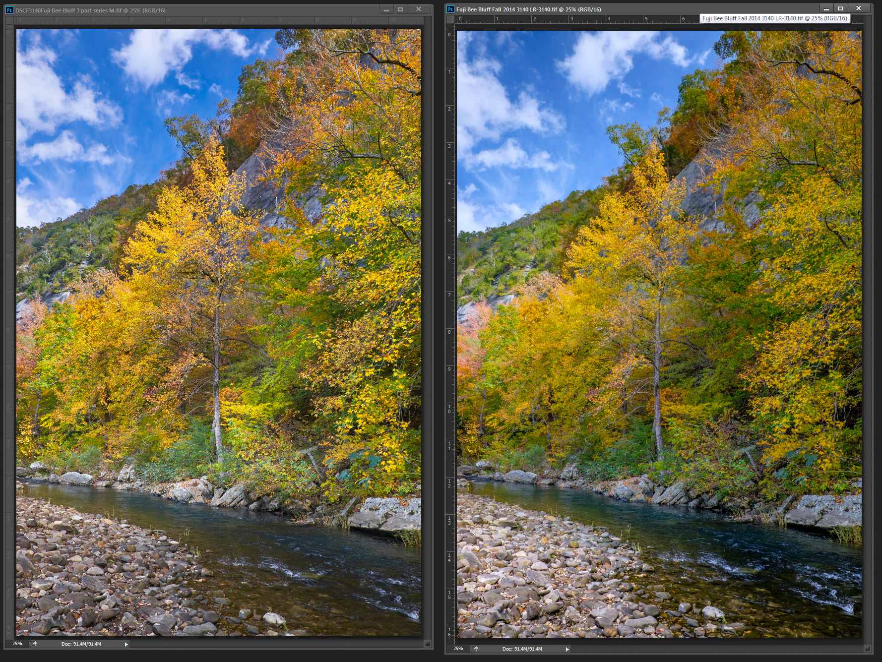Fuji X-Trans Raw Conversions–Which is best Lightroom or